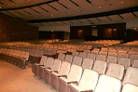Host your next concert, play or large meeting in GMercyU's Julia Ball Auditorium.