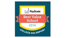 GMercyU is considered a best value by Payscale