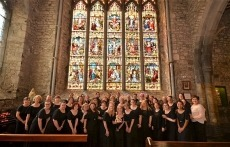 Voices of Gwynedd at Black Abbey in Ireland