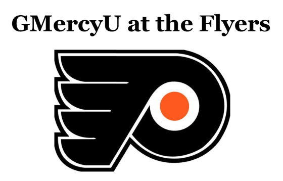 GMercyU at the Flyers