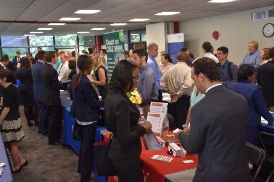 SEPCHE students attend the Accounting and Finance Career Fair